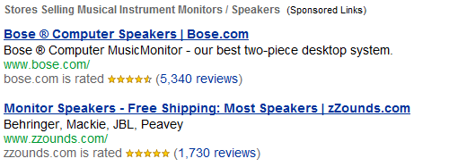 search-partner-ads-for-musical-instrument-monitors-speakers