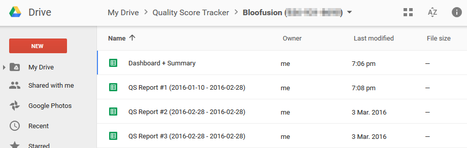 Introducing the Quality Score Tracker v3 0 | PPC Epiphany